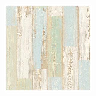 サンゲツ 西海岸風ホワイトウッドのシャービックな壁紙(ロンハーマン、ダブルティー風)CC-RE7452