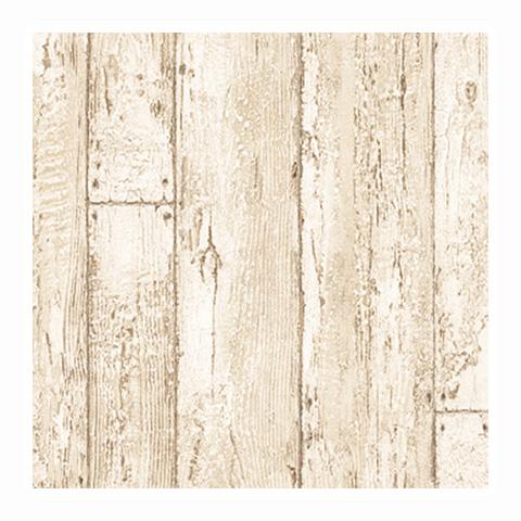 サンゲツ 西海岸風ホワイトウッドのシャービックな壁紙(ロンハーマン、ダブルティー風)CC-RE7453