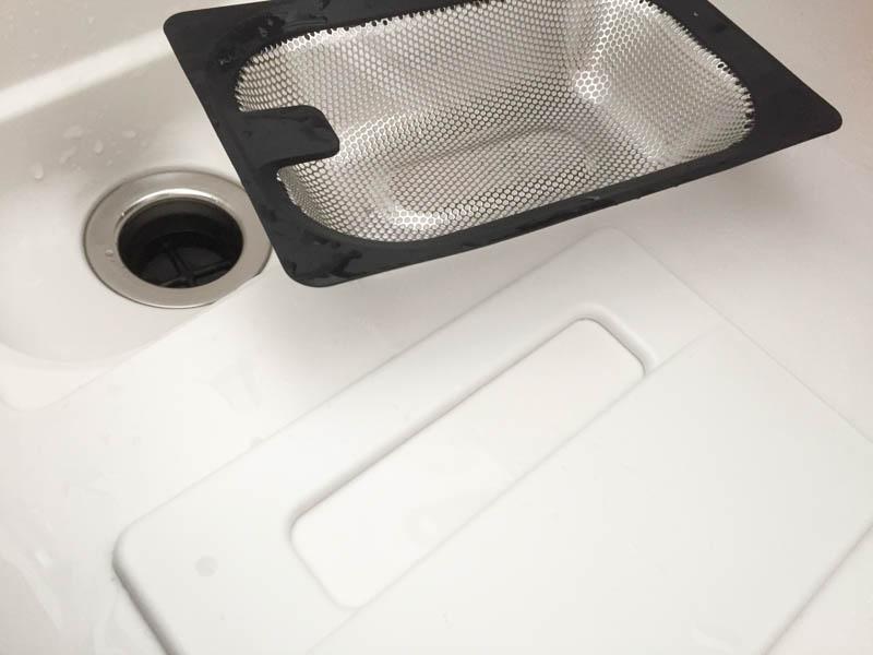 樹脂シンク-排水口2