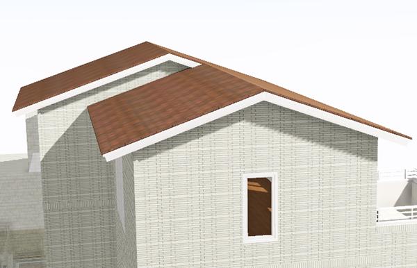 i-smartなのに切妻屋根(一条工務店のi-smartでは珍しい切妻屋根)