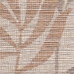 サンゲツ【CC-RE7950】 ブラウンベースの葉柄模様が、オリエンタルでアジアンな雰囲気のリゾート風壁紙。