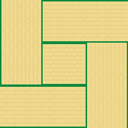 4.5畳の広さ/サイズ■2.25坪/7.45㎡
